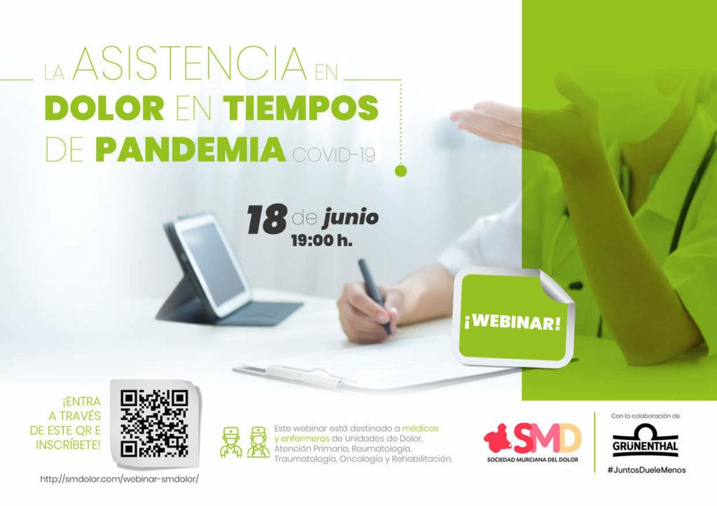 Webinar de Asistencia al Dolor en tiempos de Pandemia COVID-19