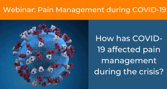 EFIC: Webinar 'Pain Management during COVID-19'